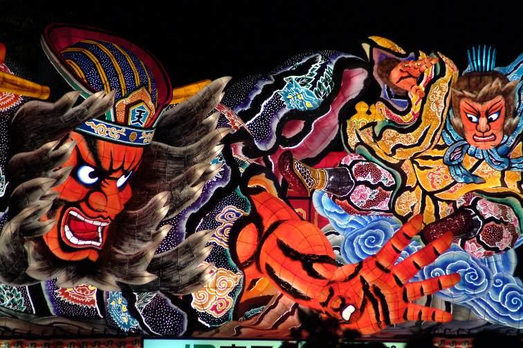 Aomori Nebuta Festival Japan : 日本の有名な祭り : 日本